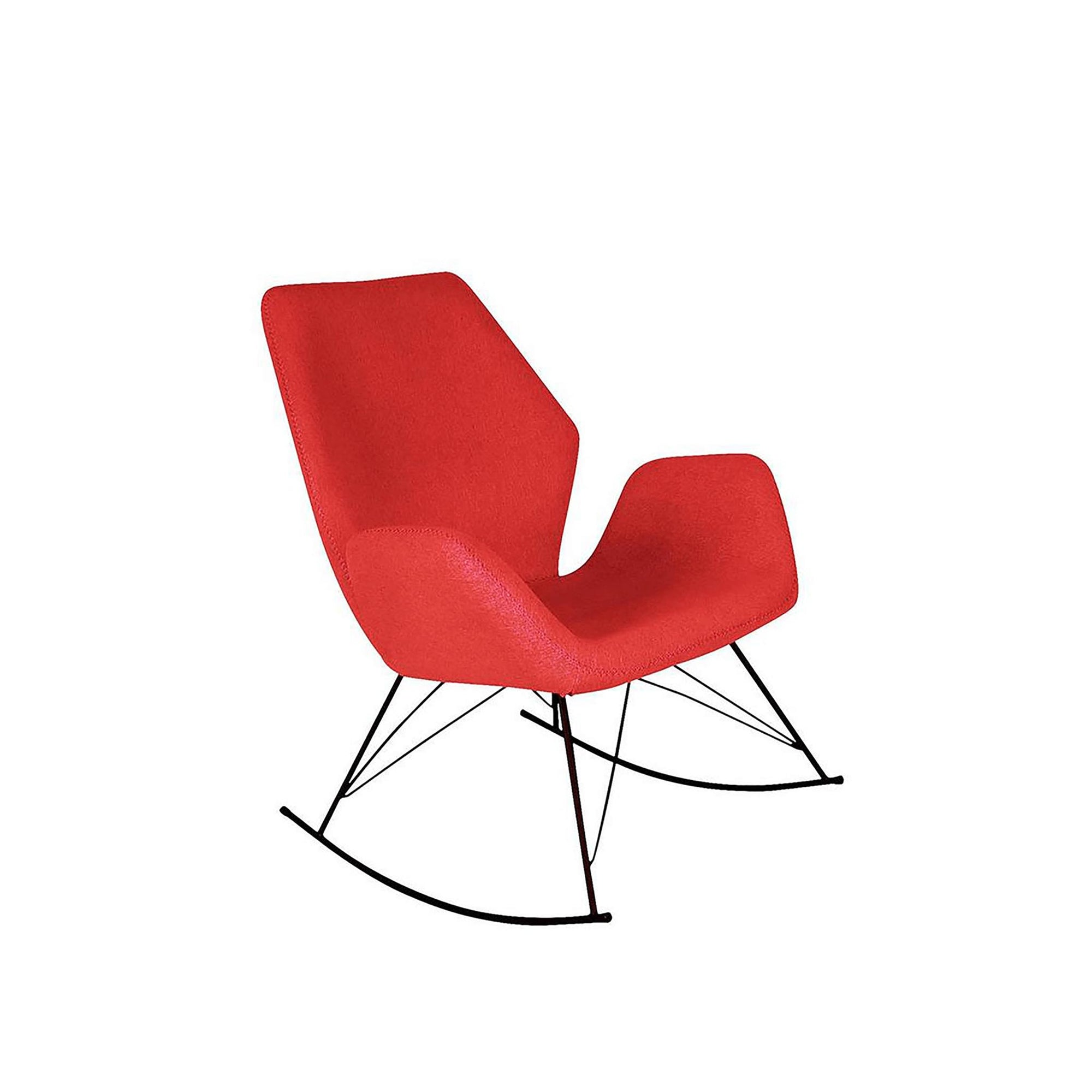 Bryce Red Rocking Chair by Roseland Furniture