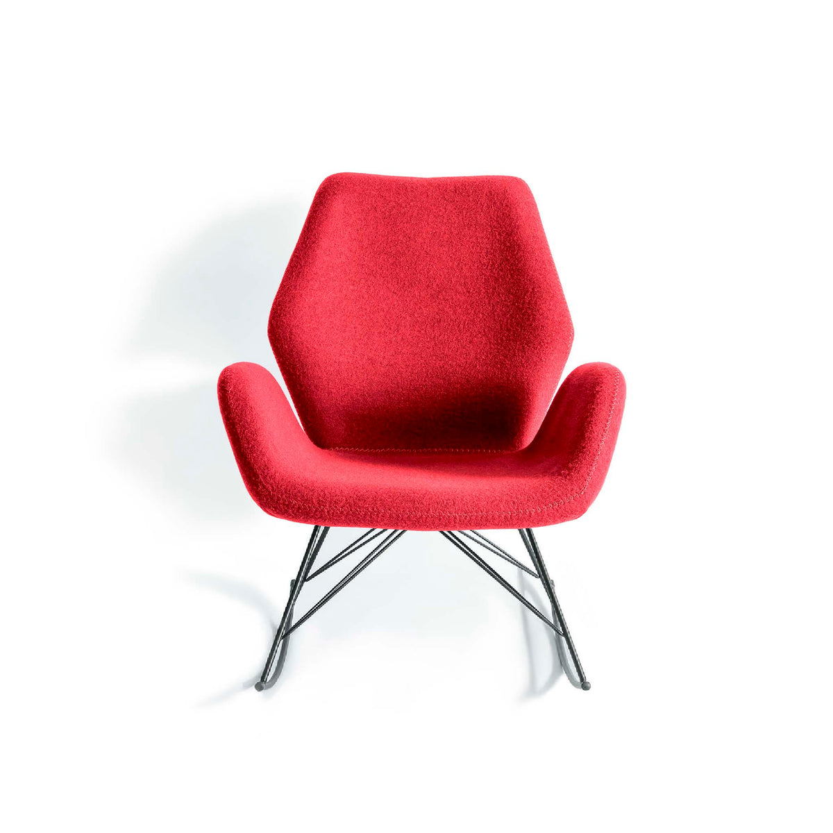 Bryce Accent Rocking Chair - Red