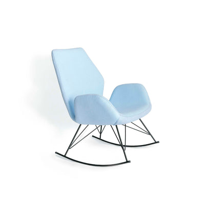 Bryce Accent Rocking Chair - Sky Blue