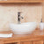 Mobel Oak Bathroom 2-Door Round Sink and Tap
