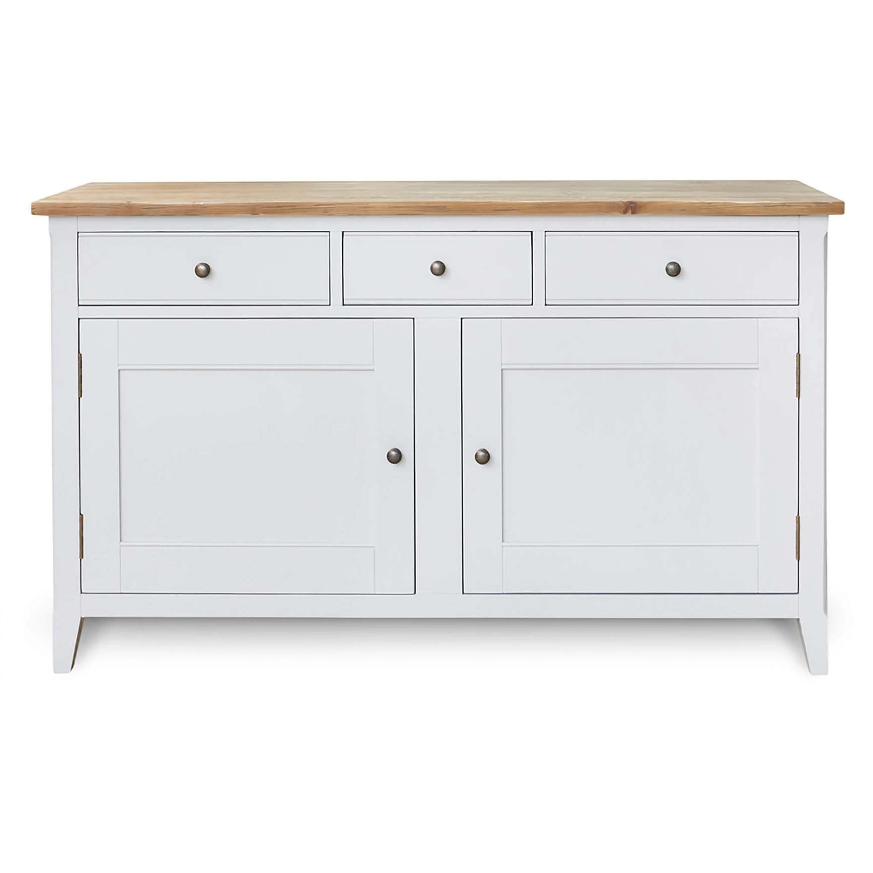 Signature Grey Large Sideboard by Roseland Furniture