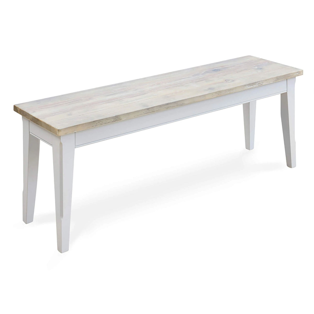 Signature Grey 130cm Dining Bench by Roseland Furniture