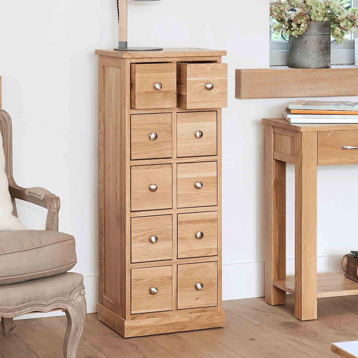 Mobel Oak DVD/CD Chest