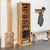 Mobel Oak Tall Shoe Cupboard by Roseland Furniture