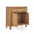 Internal view of the Falmouth Oak Mini Sideboard by Roseland Furniture