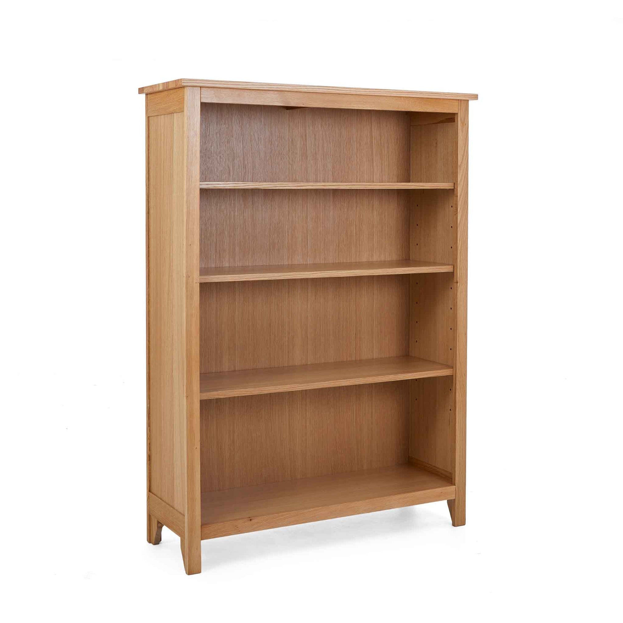 Falmouth Oak Small Bookcase by Roseland Furniture