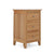 Falmouth Oak Narrow Bedside Table by Roseland Furniture