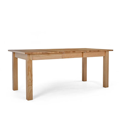 Falmouth Oak Large Extending Dining Table by Roseland Furniture