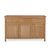 Front view of the Falmouth Oak Large Sideboard by Roseland Furniture