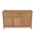 Tabletop view of the Falmouth Oak Large Sideboard by Roseland Furniture