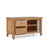 open drawer view of the Falmouth Oak 90cm TV Stand by Roseland Furniture