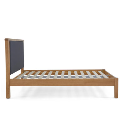 Broadway 4' 6  Double Upholstered Bed Frame