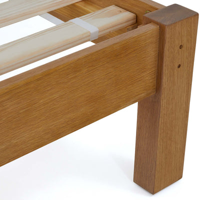 Broadway Oak Bed Frame