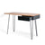 Freya Acacia Study Desk with Drawer - Side view