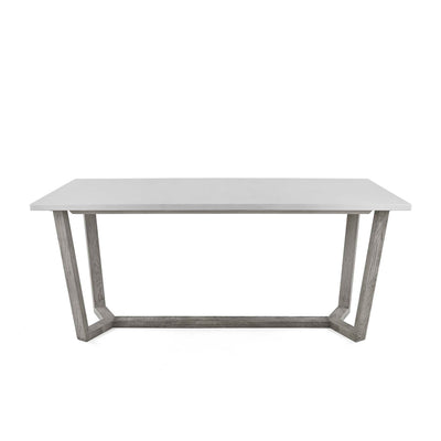 front view of the Epsom 150cm Rectangular Dining Table