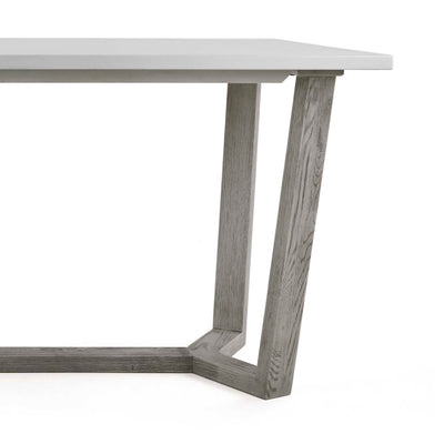 Epsom 150cm Rectangular Dining Table with grey washed legs