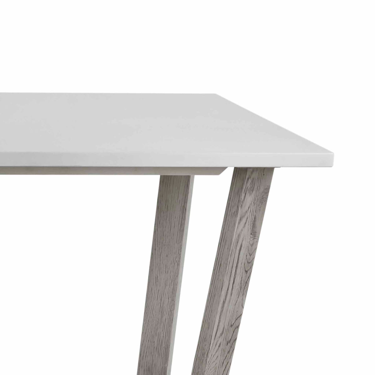 Epsom 150cm Rectangular Dining Table with concrete effect top