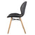 Denver Dining Chair with Oak Legs, Stone Grey - Set of 2 Chairs
