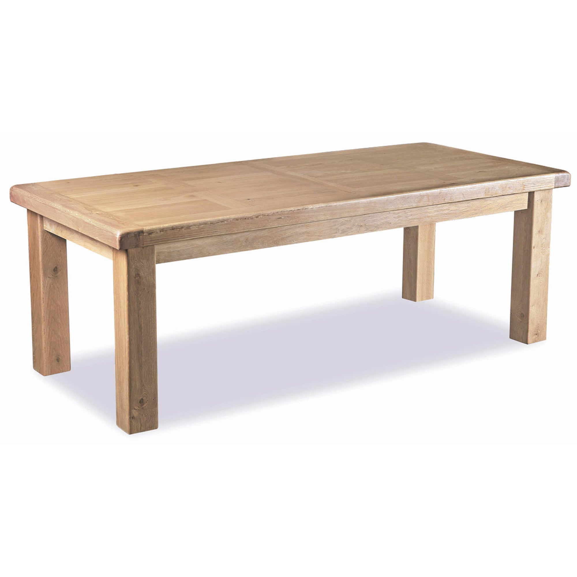 Malvern Oak Extending Dining Table by Roseland Furniture