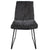 Front view of the Dark Grey Hadley Dining Chair from Roseland Furniture