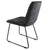 Dark Grey Hadley Dining Chair with cushioned seat