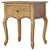The Artisan French Style Wooden Bedside Table with Storage
