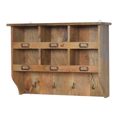 The Artisan Hook and Hide Wall Mounted Storage Unit