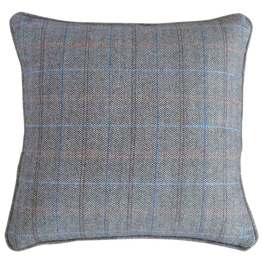The Artisan Grey Multi Tweed Cushion from Roseland Furniture