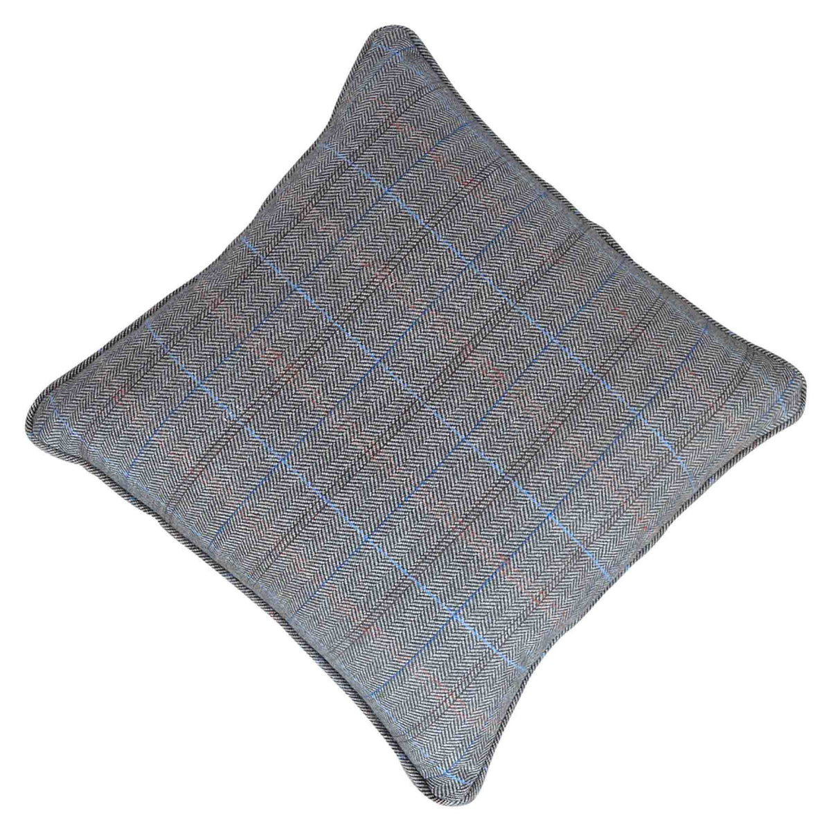 The Artisan Grey Multi Tweed Fabric Cushion