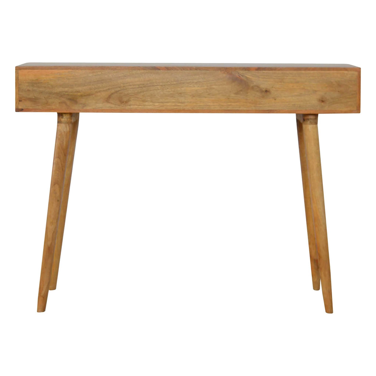 Artisan Retro Writing Desk Console Table  - back view
