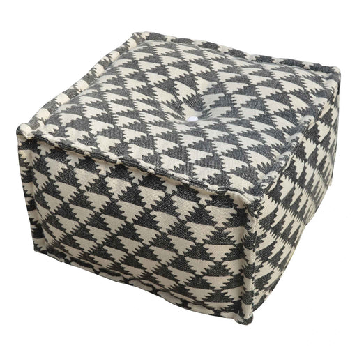 Artisan Durrie Pouffe by Roseland Furniture