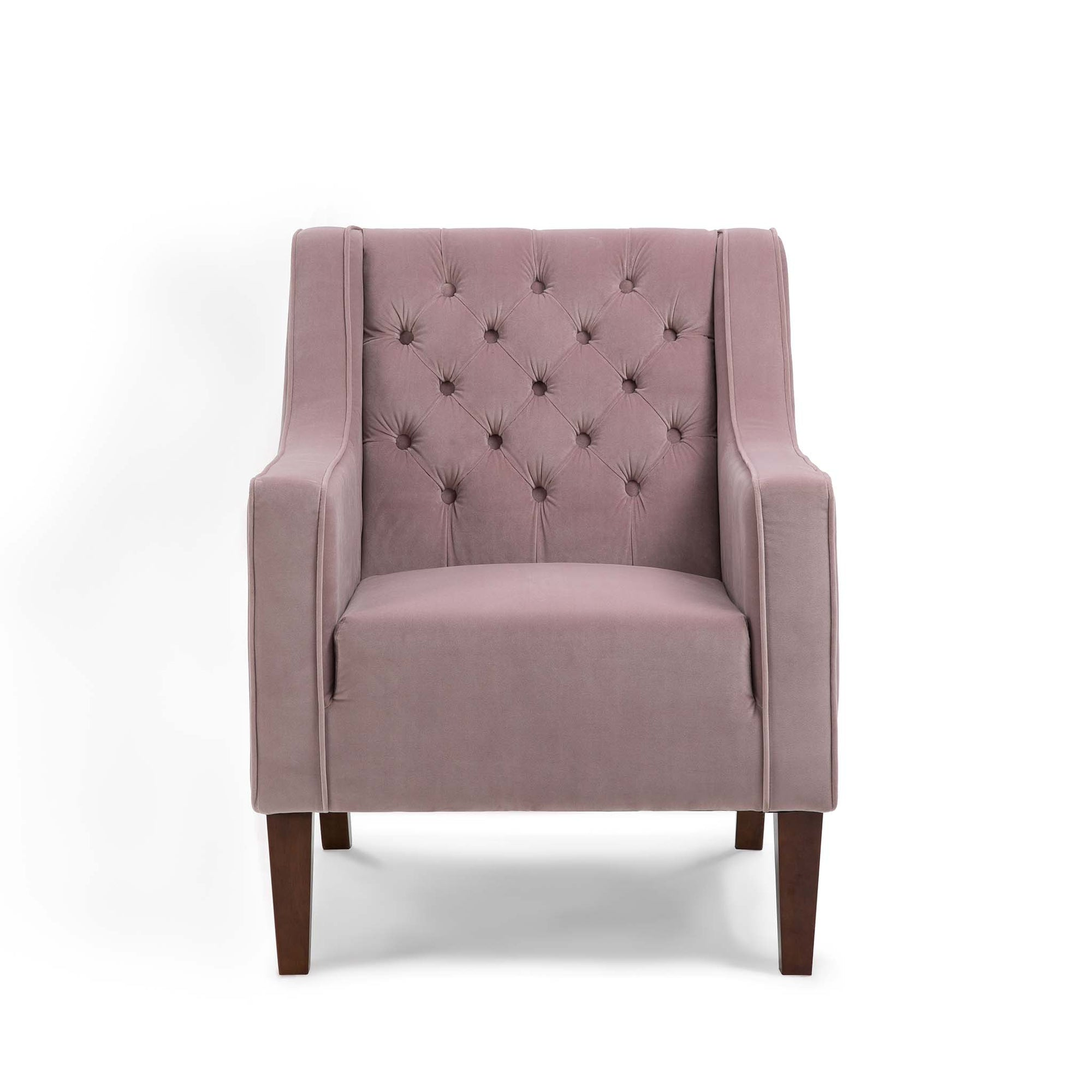 Eliza Heather Chesterfield Arm Chair by Roseland Furniture