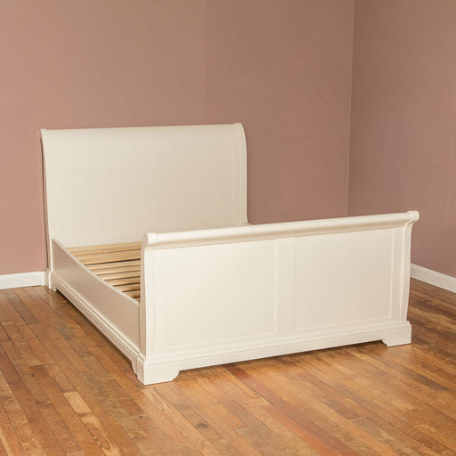 "Lily Double 4'6"" Sleigh Bed"