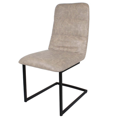 Mottled Elk Maitland Faux Leather Dining Chair by Roseland Furniture
