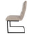Side view of Mottled Elk Maitland Faux Leather Dining Chair by Roseland Furniture