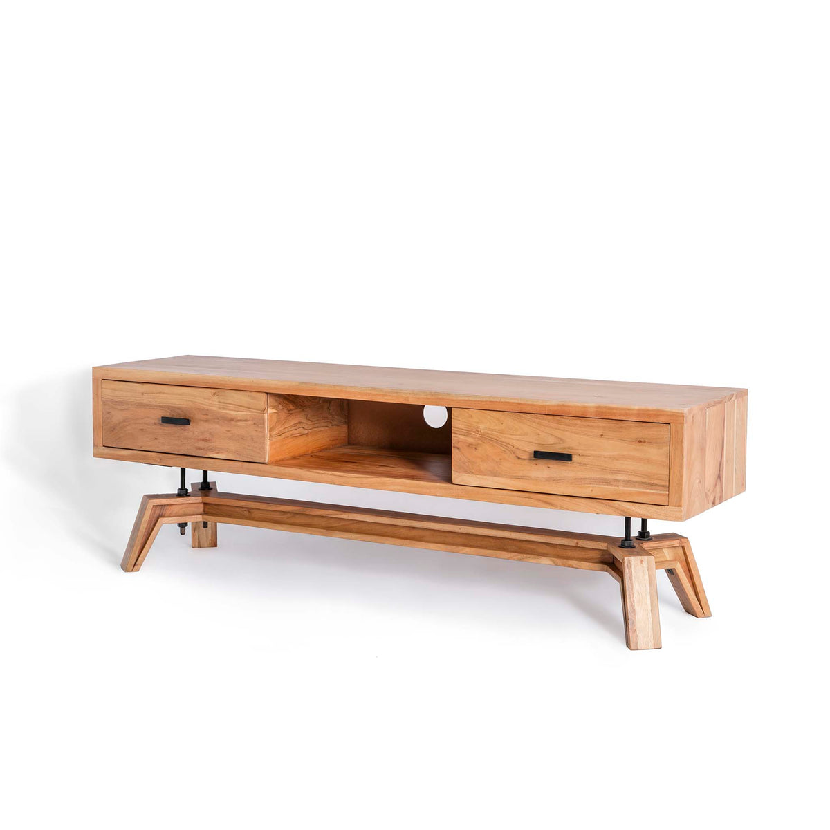 Freya Acacia 170cm TV Stand - Side View
