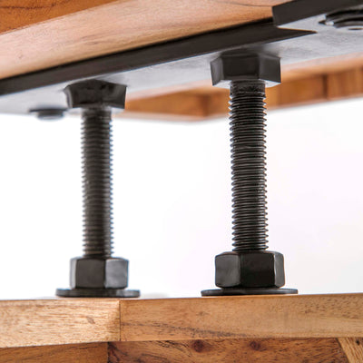 Freya Acacia 170cm TV Stand - Close up detail of underside