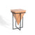 Freya Acacia Large Cube Lamp Table by Roseland Furniture
