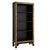 The Nine Schools Oriental Decorated Black Bookcase by Roseland Furniture