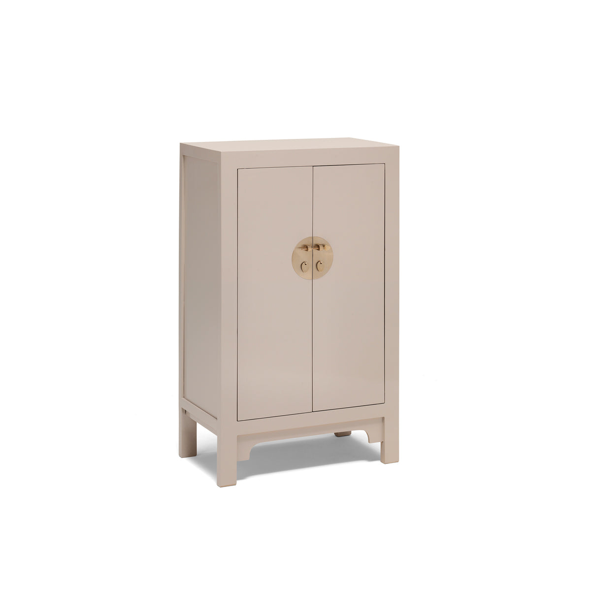 The Nine Schools Qing Oyster Grey Medium Cabinet by Roseland Furniture