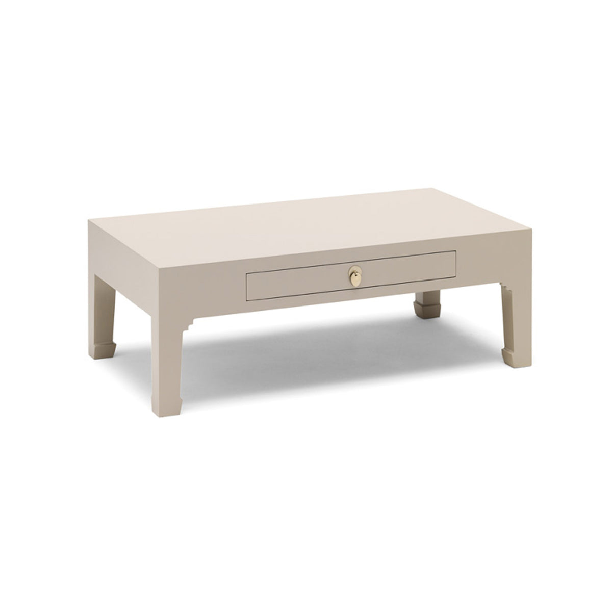 The Nine Schools Oyster Grey Coffee Table by Roseland Furniture