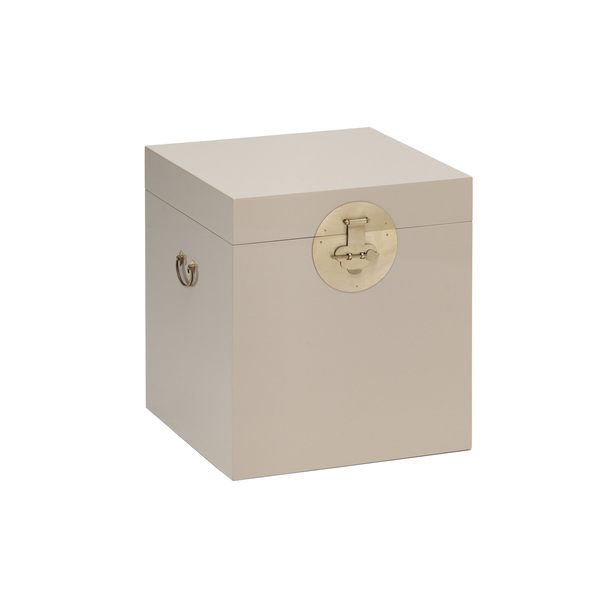 The Nine Schools Qing Oyster Grey Trunk by Roseland Furniture
