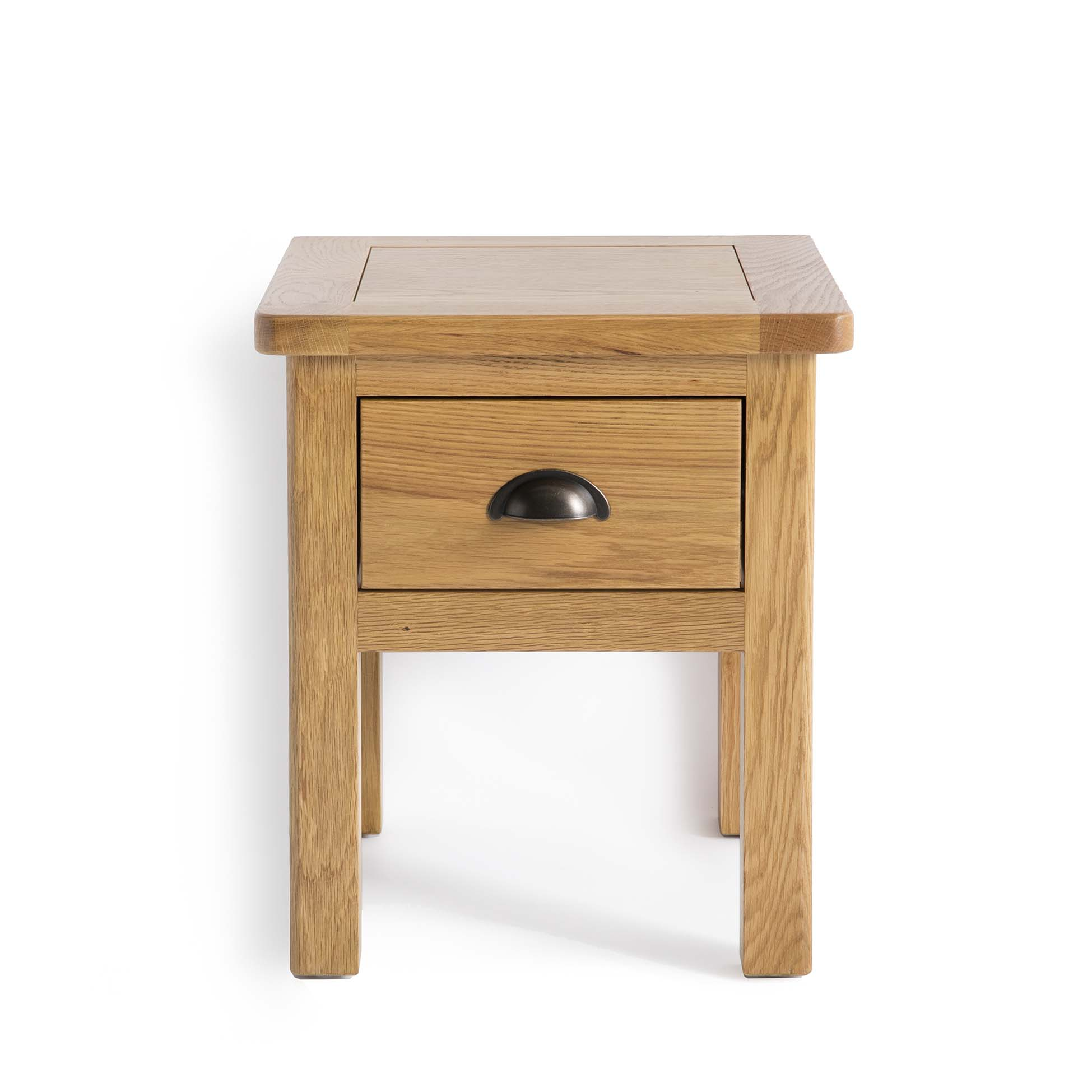 Roseland Oak Lamp Side Table by Roseland Furniture