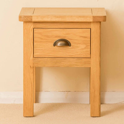 Roseland Oak Lamp Table