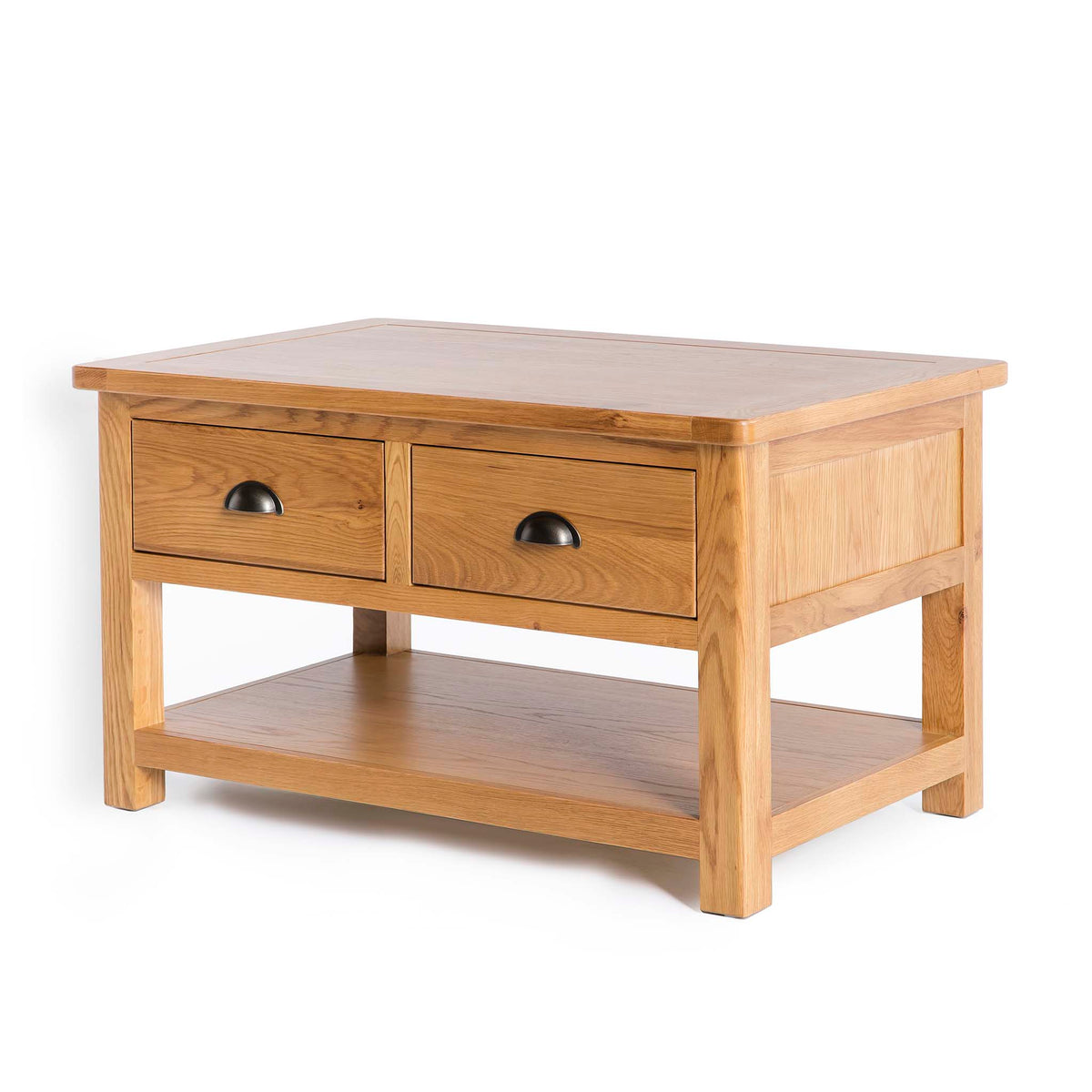 Drawer handle of Roseland Oak 2 Drawer Coffee Table