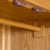 Hanging rail and latches Roseland Oak Double Wardrobe & Drawers