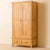 Roseland Oak Double Wardrobe & Drawers by Roseland Furniture