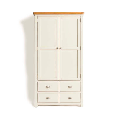 Padstow Cream Large Kitchen Larder Unit from Roseland Furniture
