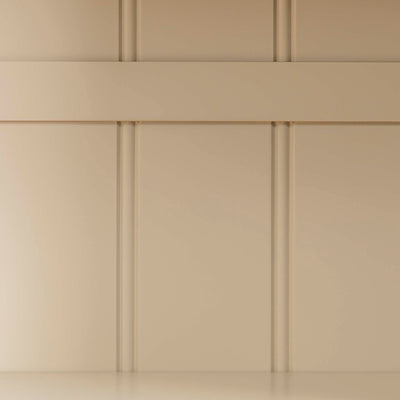Padstow Cream Large Kitchen Larder Unit - View of  back panelling on Larder