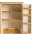 Padstow Cream Large Kitchen Larder Unit - View of  Spice rack on cupboard door